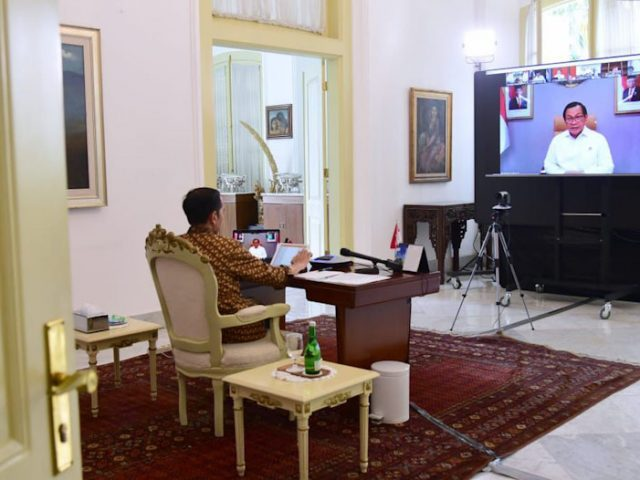 Jokowi Akui Faktor Cuaca Memengaruhi Pesatnya Penyebaran Covid-19