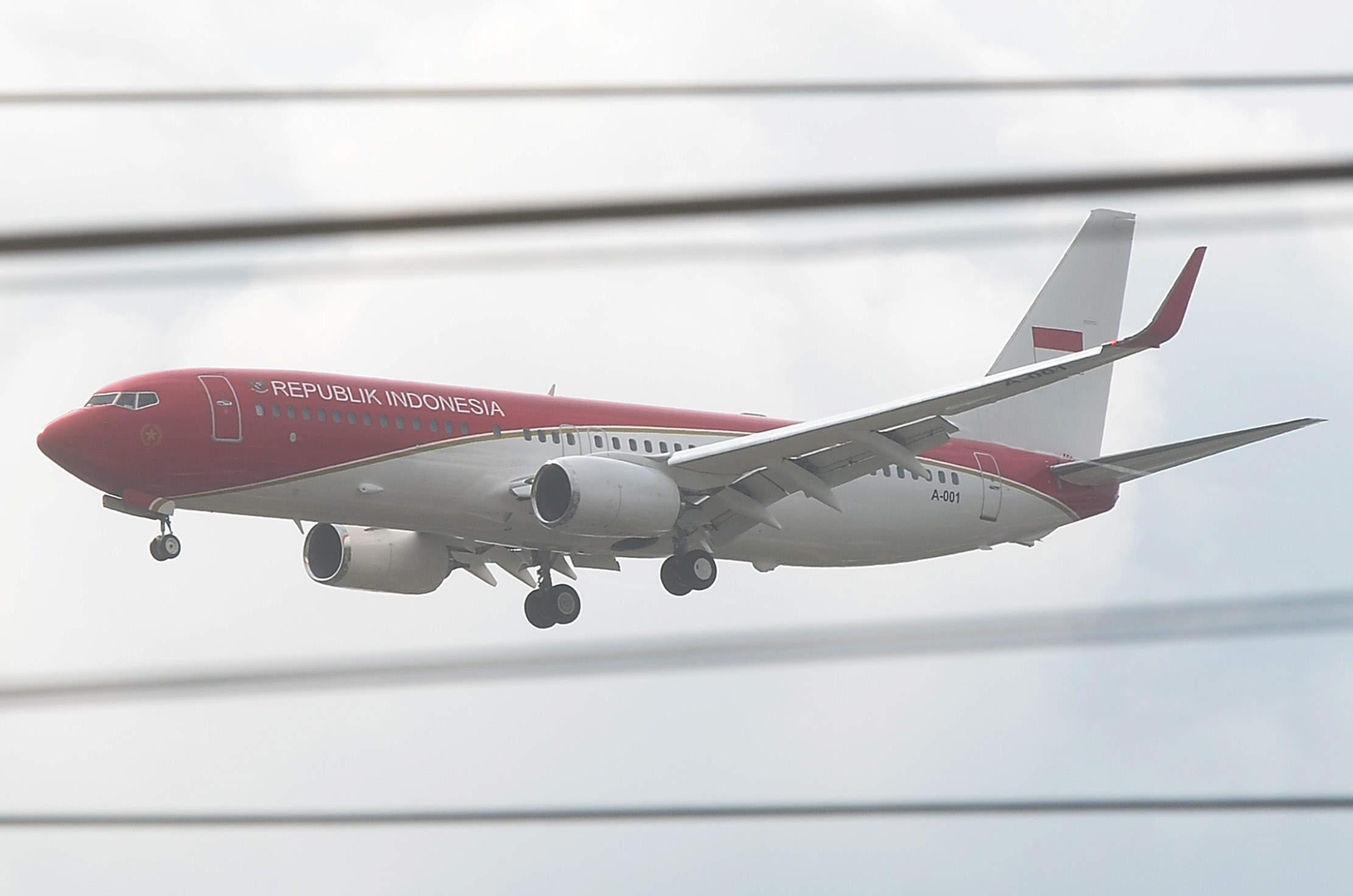 Setelah Mendarat, Presiden Jokowi ke Bengkalis Naik Heli
