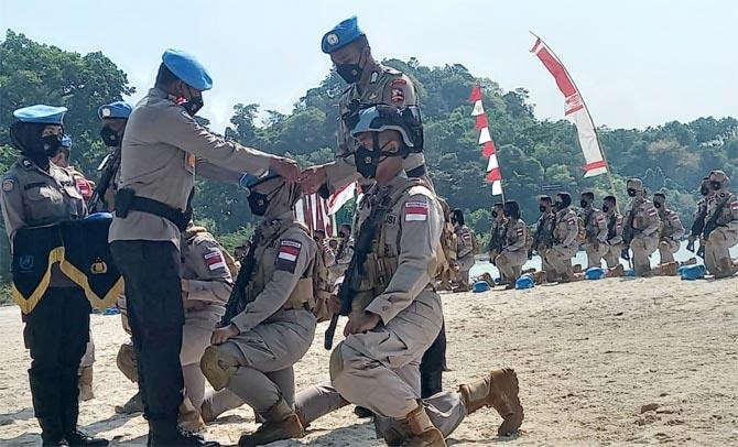 152 Personel Polri Ditugaskan ke Afrika
