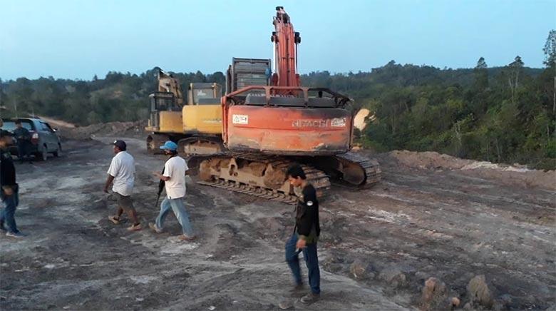 Aktor Intelektual Ilegal Mining Tahuna Bukit Soeharto Akhirnya Ditangkap