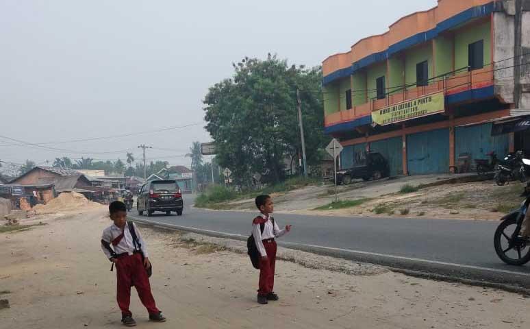 6.512 Warga Siak Terkena Dampak Kabut Asap