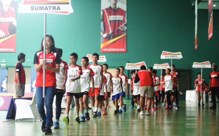 Atlet Riau Tembus Final Audisi Umum Beasiswa Bulutangkis