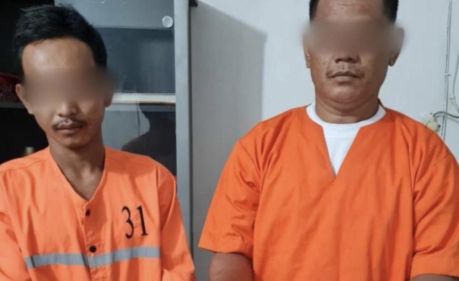 Dua Maling Spesialis Bongkar Rumah Warga di Pinggir Dibekuk Polisi