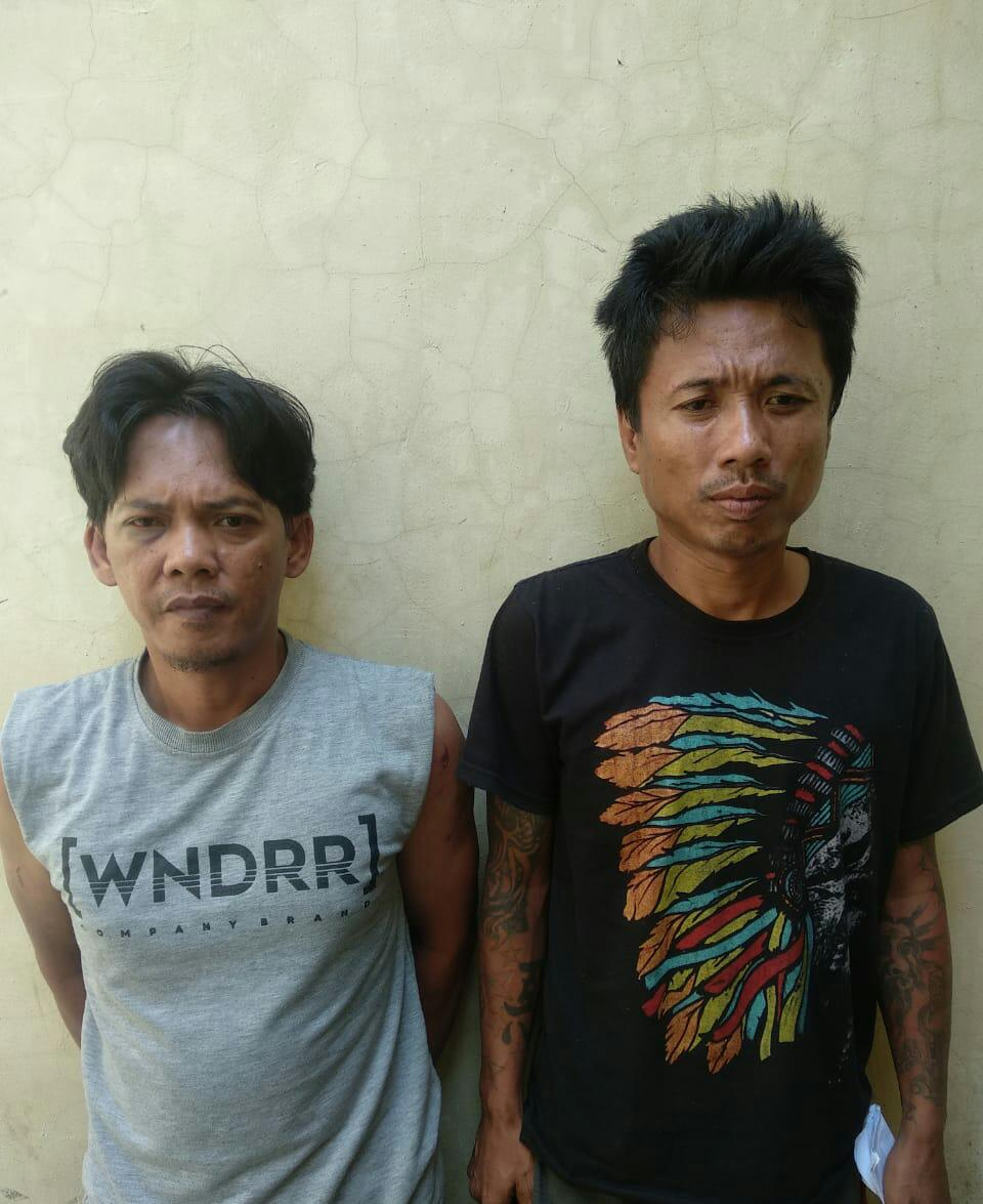 Dua Pelaku Curat di Tampan Berhasil Ditangkap
