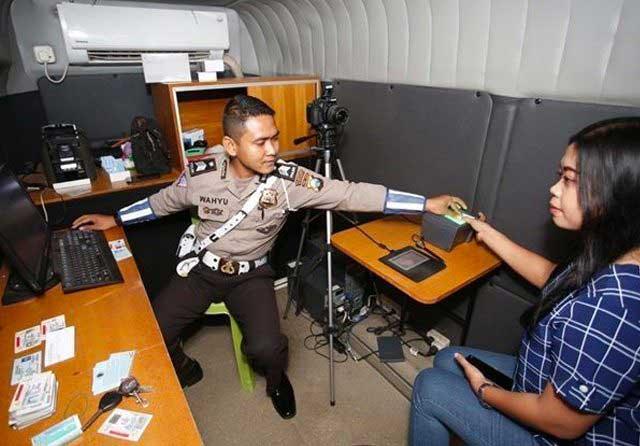 Layanan SIM, STNK dan BPKB Telah Dibuka