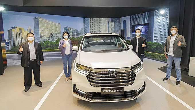 Mewah dan Aman Bersama New Honda Odyssey