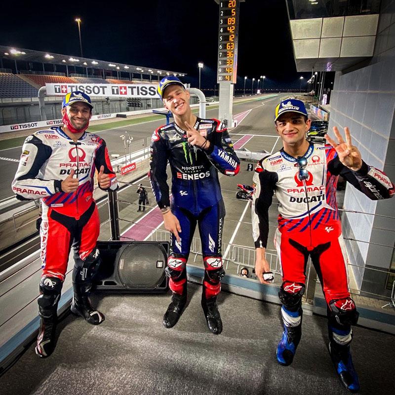 Kalahkan Dominasi Pramac Ducati, Quartararo Juara
