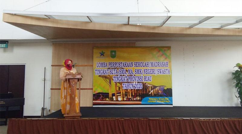 Dispersip Riau Gelar Lomba Perpustakaan Sekolah Tingkat SLTA