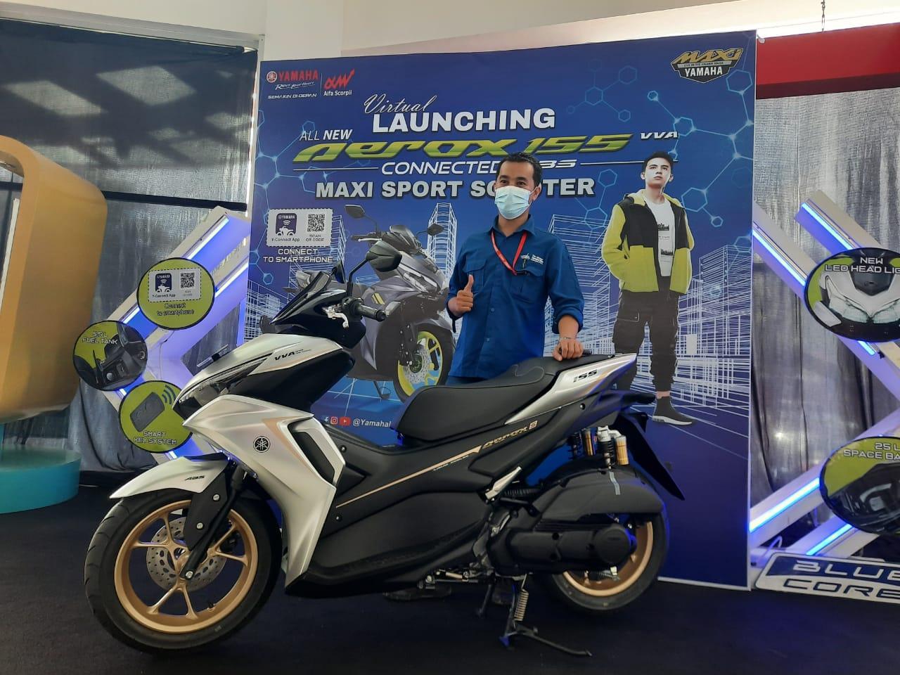 Yamaha Launching All New Aerox 155 Connected, Harganya?