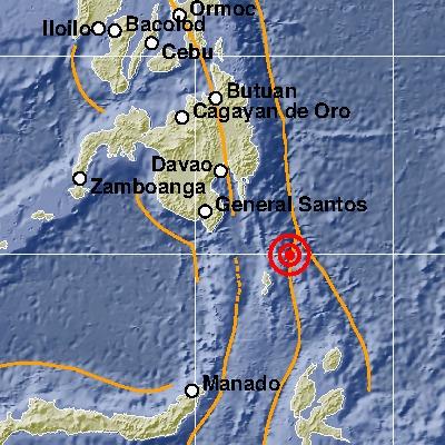 Gempa M7,0 di Sulut Jenis Menengah Subduksi Lempeng Filipina