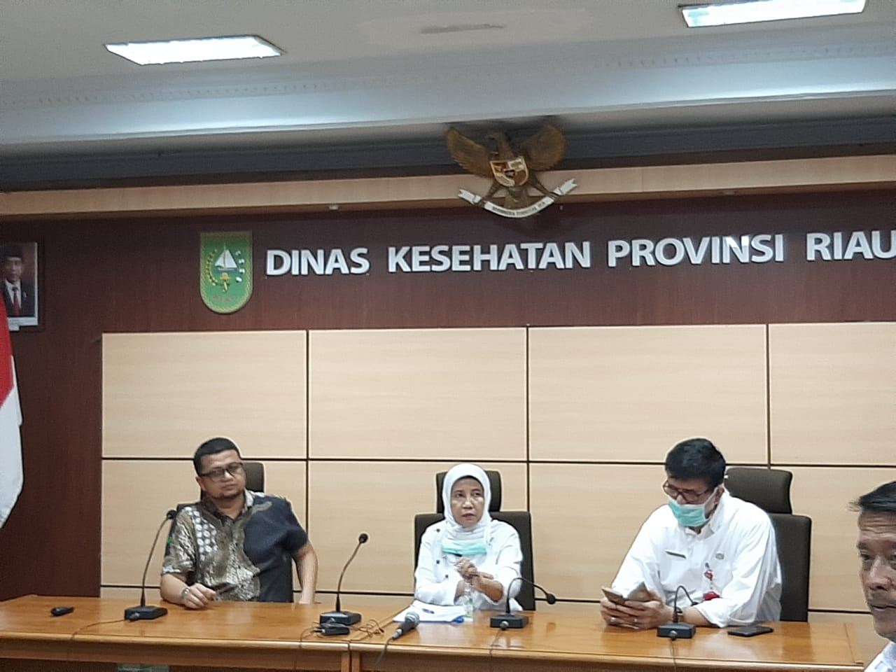 Pasien Pertama Positif Covid-19 di Riau Dirawat di RSUD Arifin Achmad