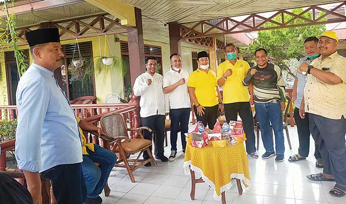 Sukirno Caretaker Ketua DPD II Golkar Inhu