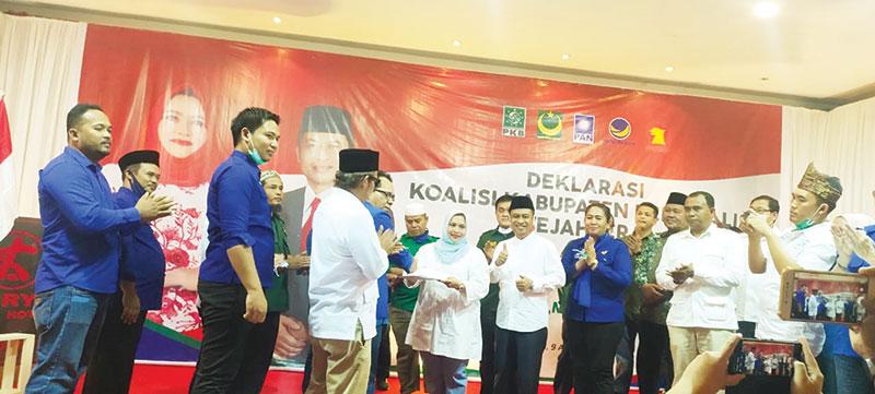 Koalisi Kabupaten Bengkalis Sejahtera Deklarasi di Duri