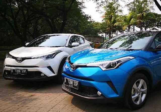 Mobil Toyota C-HR Hybrid Laris di Indonesia