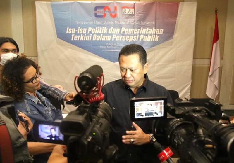 Ketua MPR Yakin Pemerintah Bisa Atasi Krisis