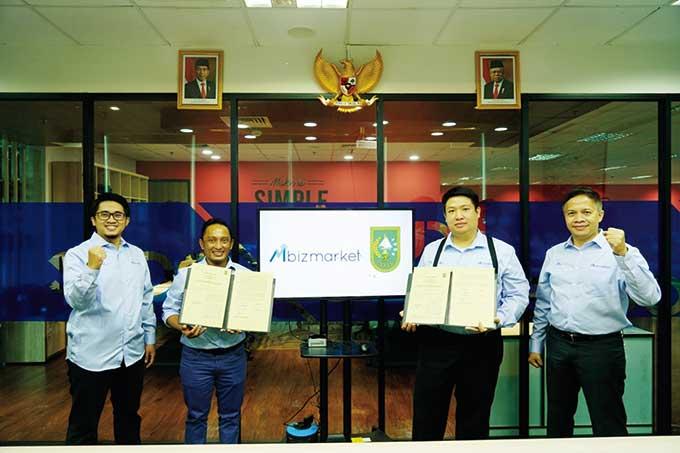 Pemprov Riau Kerja Sama dengan Mbizmarket