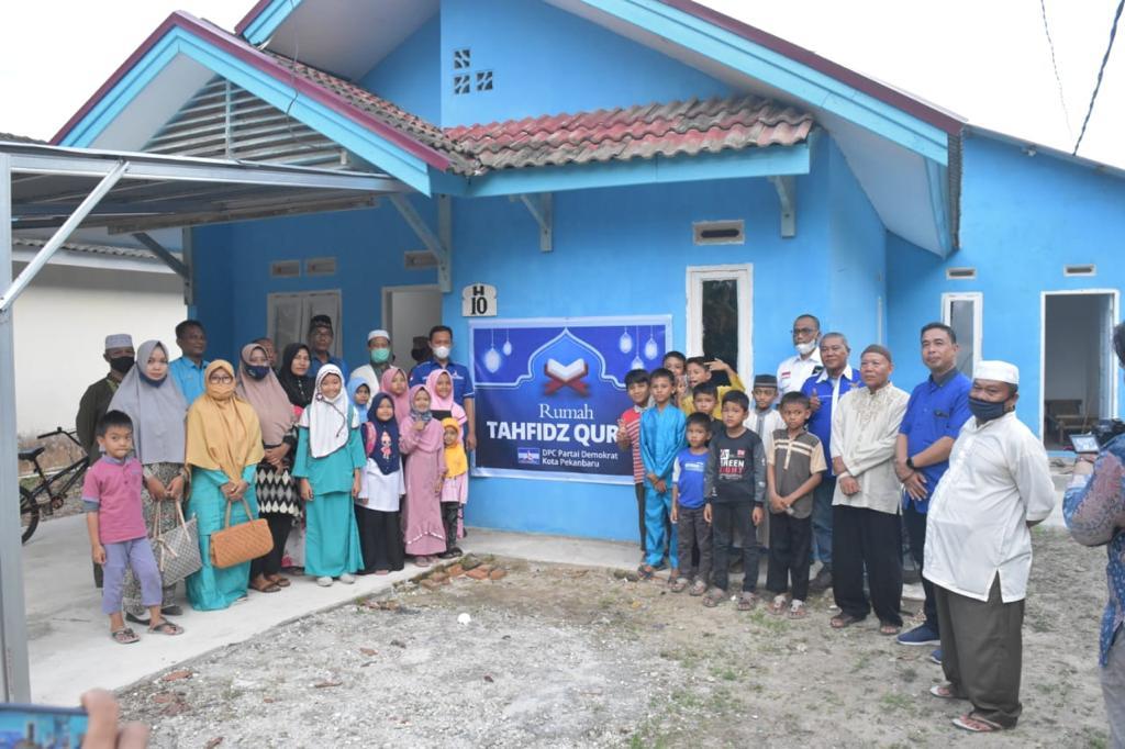 Demokrat Pekanbaru Dirikan Rumah Tahfiz