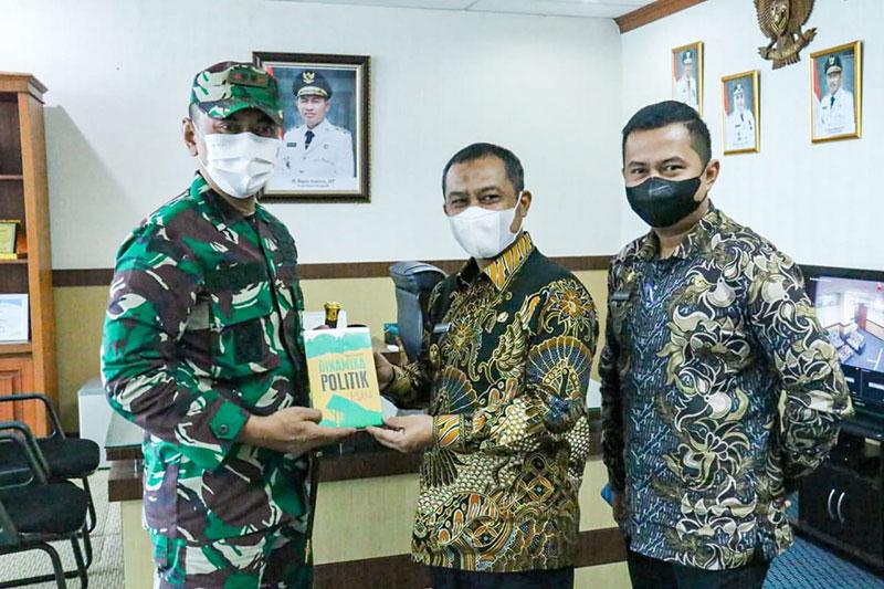 Dandim 0303 Bengkalis Jalin Sinergitas Bersama Pemkab