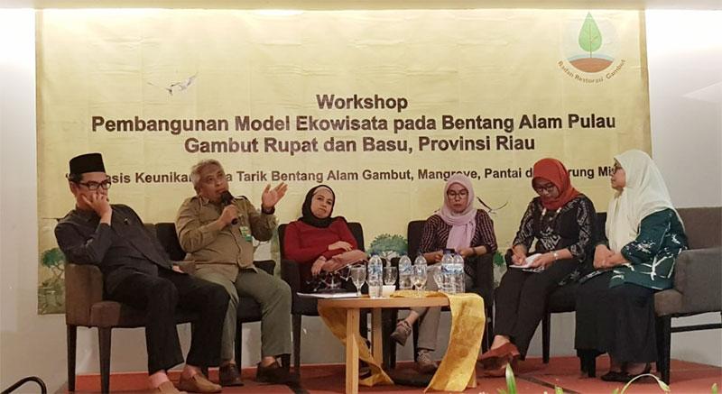 Riau Jadi Model Ekowisata Gambut Pertama di Indonesia