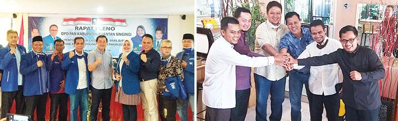 Halim-Komperensi Diusung PAN, Andi Putra-Suhardiman Didukung PKS