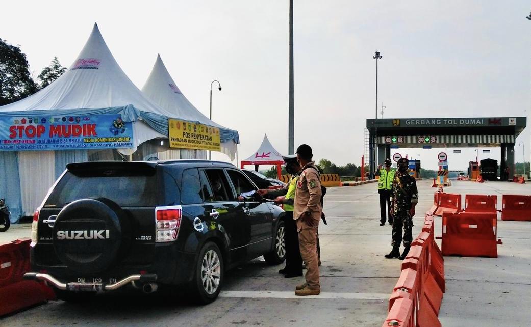 Gerbang Tol Dumai dan 2 Ruas JTTS Disekat, Ini Syarat Dibolehkan Lewat
