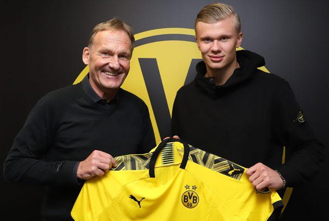 Erling Haaland Sebut Dortmund Lebih Menjanjikan Ketimbang MU