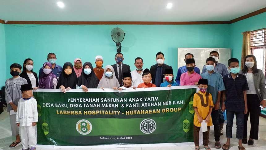 Labersa Hospitality –Hutahaean Group Berikan Santunan pada Anak Yatim