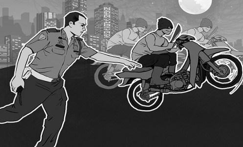 Dua Pelaku Curanmor Asal Aceh Didor Polisi