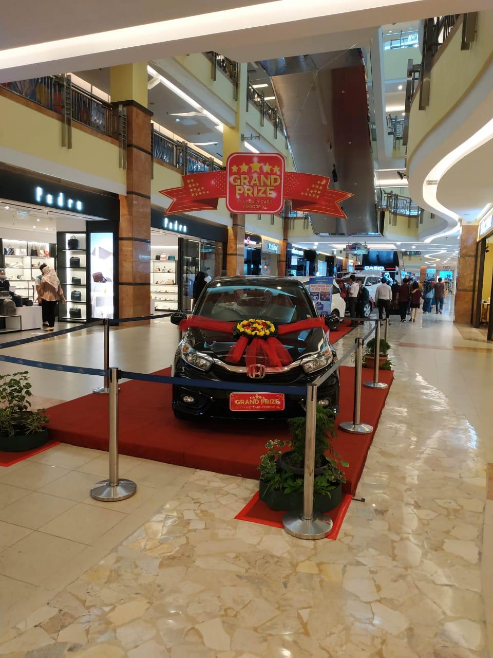 Undian Grand Prize Shop and Win SKA Family Card Mal SKA Ikuti Prokes