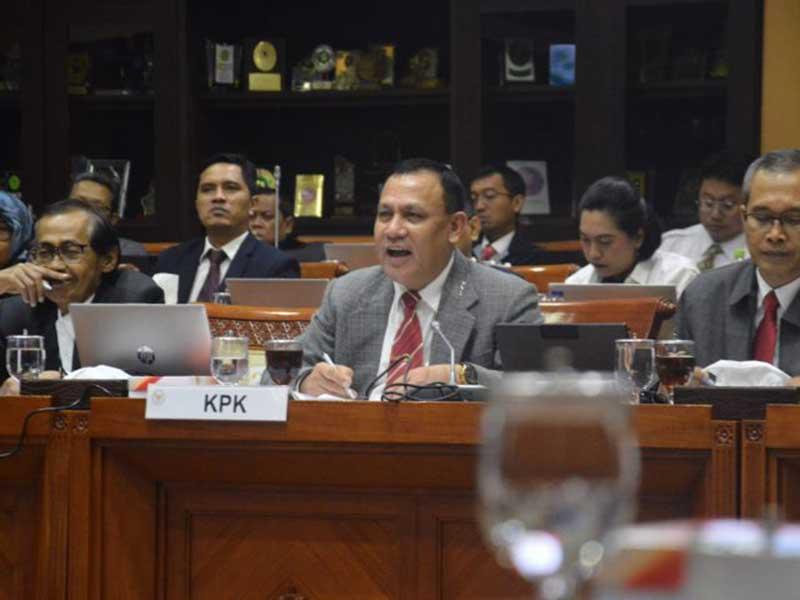KPK Bekuk Ketua DPRD dan eks Kadis Muara Enim
