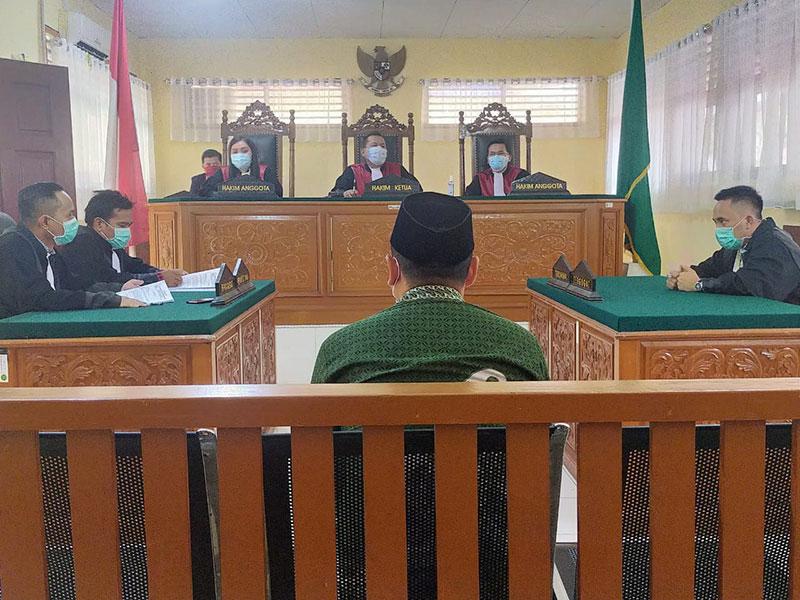 JPU Tuntut Kades Talang Jerinjing Lima Bulan Penjara