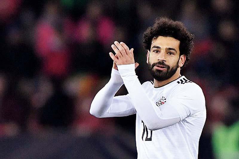 Mohamed Salah Positif Corona