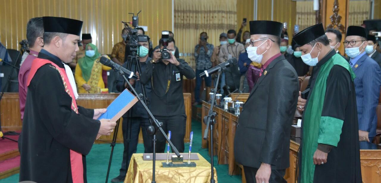 Sofyan Resmi Jabat Wakil Ketua DPRD Bengkalis