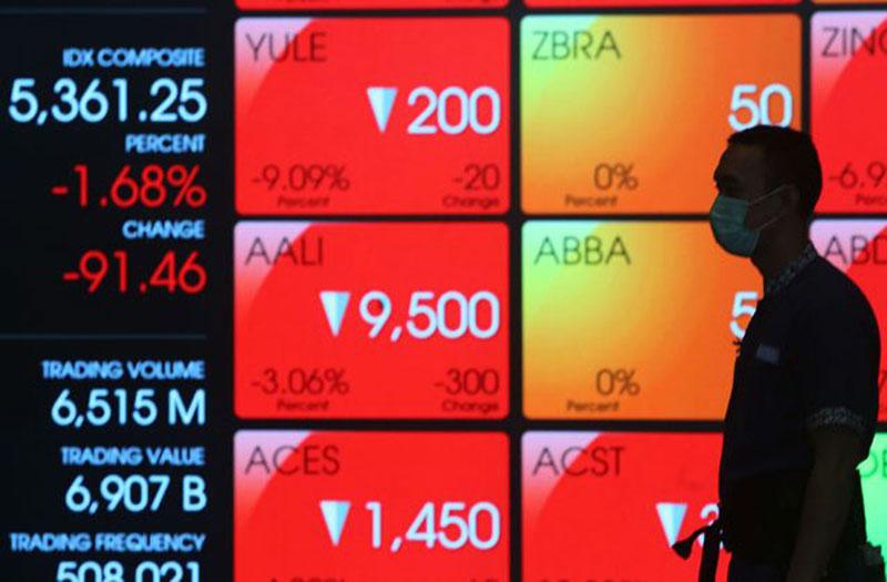 Dua Pekan, Dana Asing Kabur dari Pasar Modal RI Rp5,91 Triliun