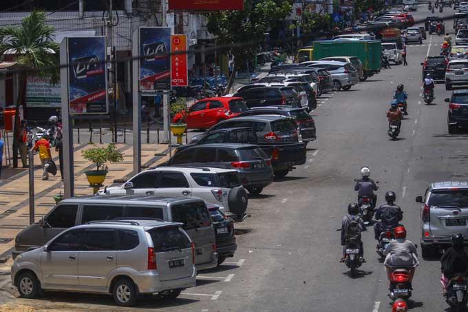 Target PAD Parkir Tepi Jalan Turun 50 Persen