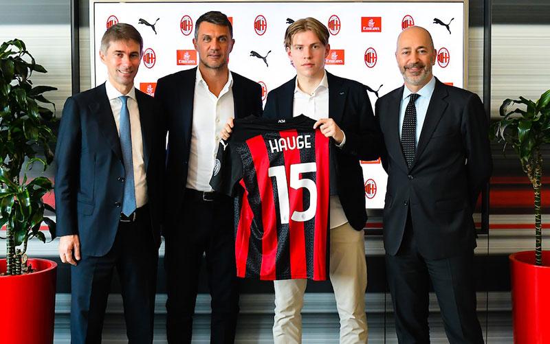 Resmi Dikontrak, Hauge Bilang Milan Dibuat untuk Menang