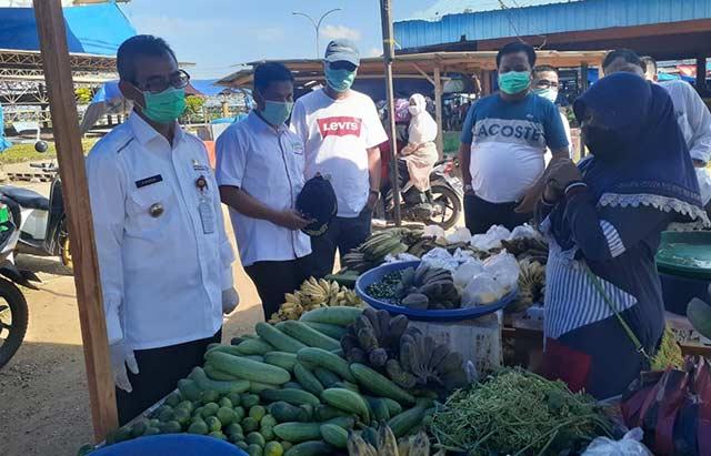 Bupati Tinjau Pasar Tradisional Berbasis Modern