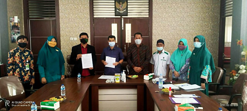 Fakultas Psikologi UIR dan Laznas IZI Riau Jalin Kerja Sama