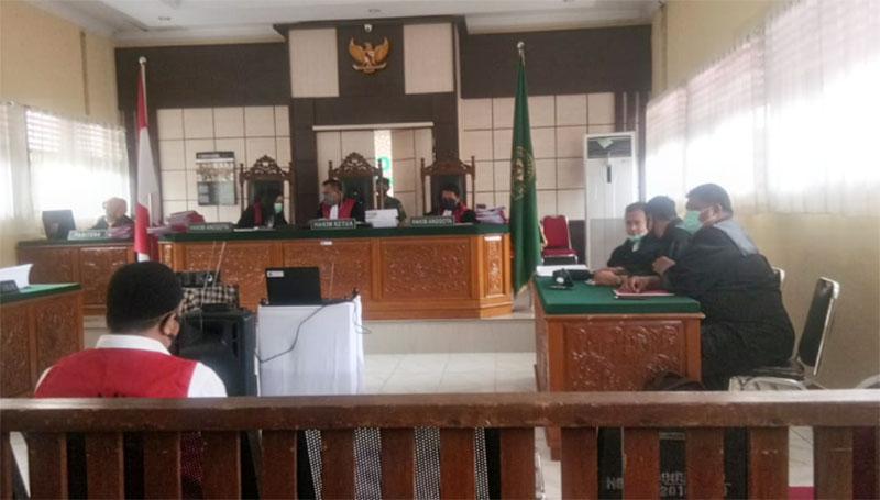JPU Tuntut Terdakwa Karhutla Dua Tahun Penjara dan Denda Rp1 M