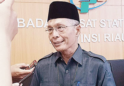 1,31 Juta Penduduk Riau Tercatat dalam Sensus Penduduk Daring