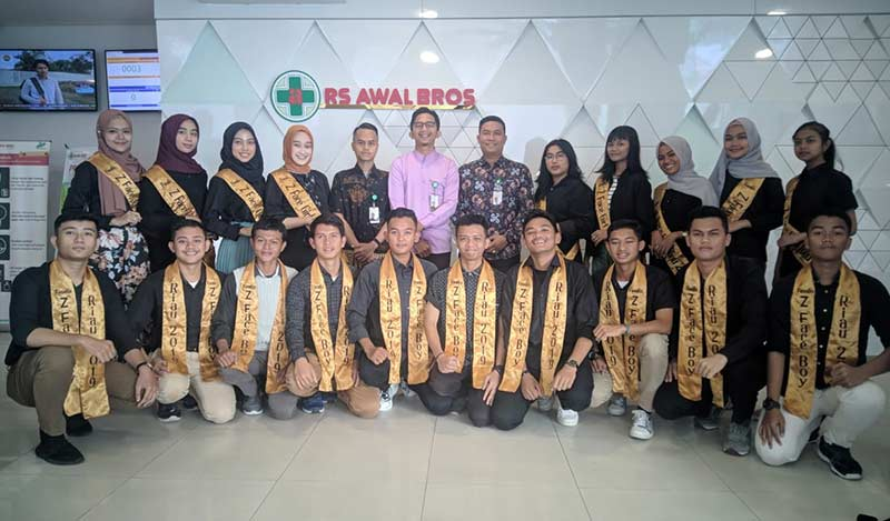 Finalis Antusias Medical Check Up di RS Awal Bros A Yani