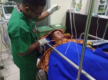 Diterkam Harimau, Warga Gaung Terluka Parah