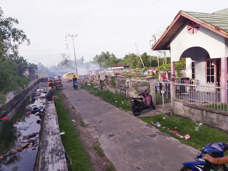 Sampah Masih Menjadi Keluhan Warga Rumbia
