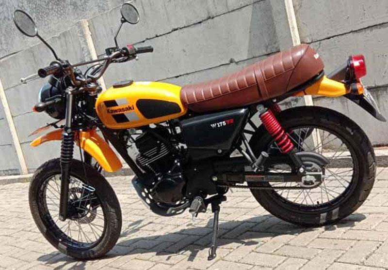 Kawasaki W175 TR Percaya Diri Lawan Pesaing dari Yamaha
