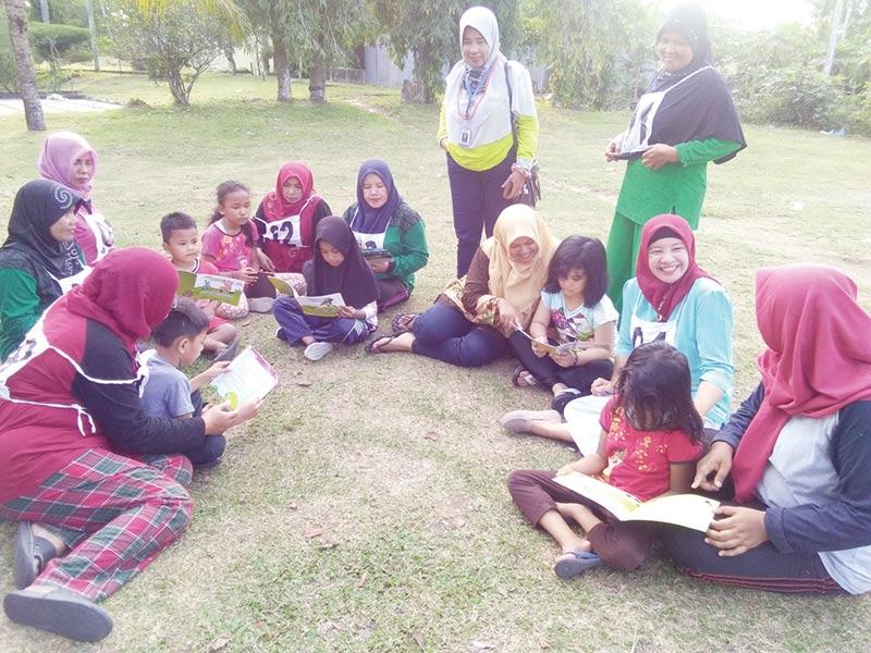 Gerakan Literasi di Kampung KB