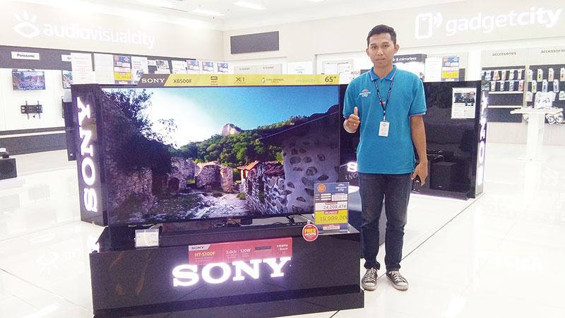 Sony KD-65X8500F Sajikan Pengalaman Nonton Berbeda