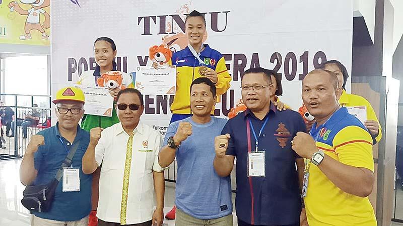 Tiga Atlet Inhu Raih Tiket ke PON XX di Papua