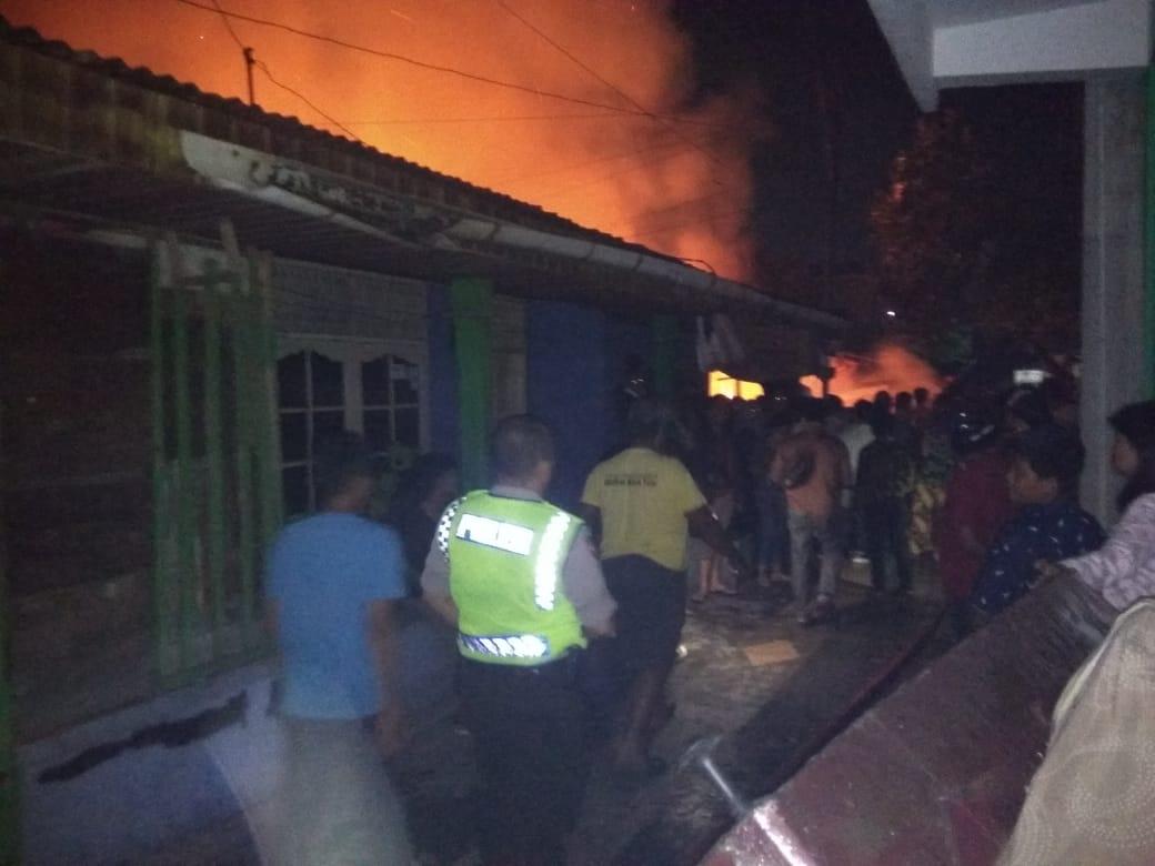Penyebab Kebakaran 4 Rumah di Kampung Dalam Masih Diselidiki