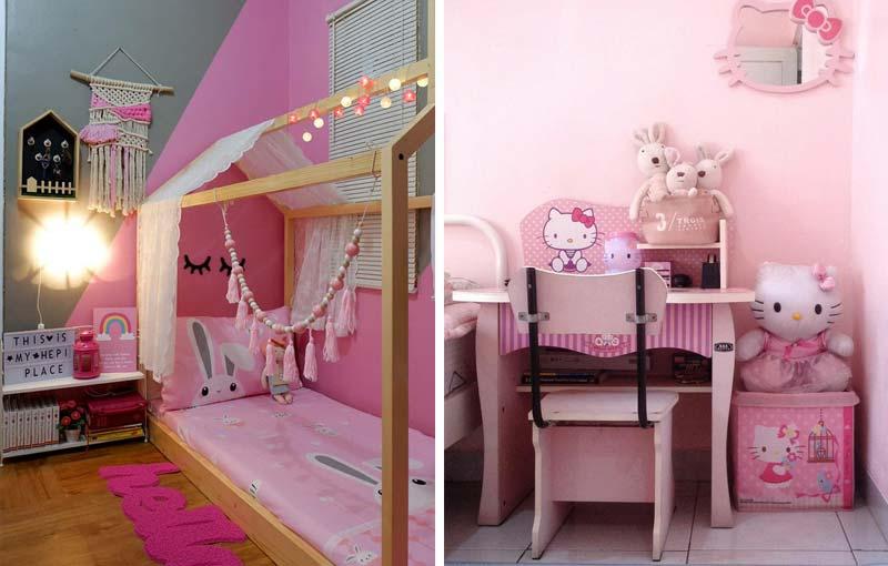 Dekorasi Kamar Anak yang Girly