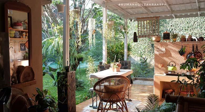 Tampil Unik dengan Tema Tropis Etnik Khas Indonesia